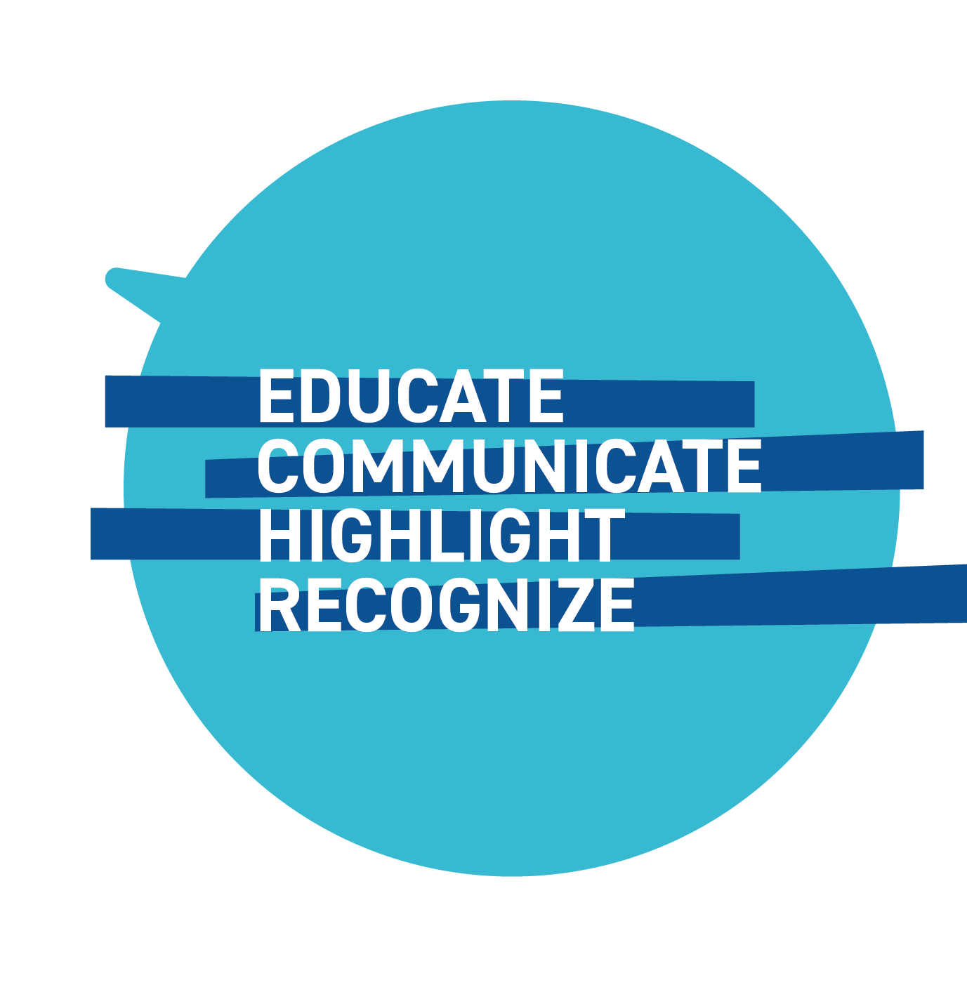 Do: Educate, communicate, highlight, and recognize