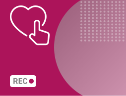 heart icon with pink background
